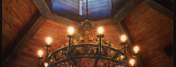 Rat's Restaurant is one of F&W's Coziest Restaurant.