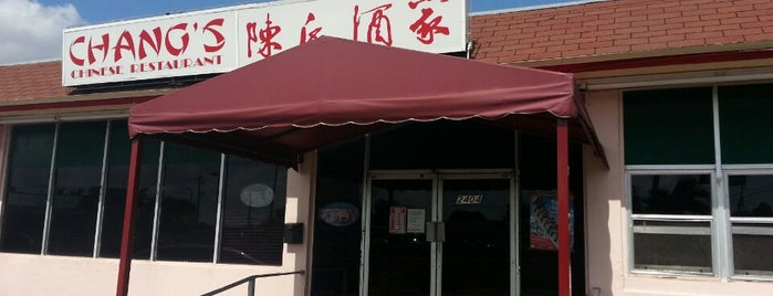 Chang's Chinese Restaurant is one of Kevin 님이 좋아한 장소.