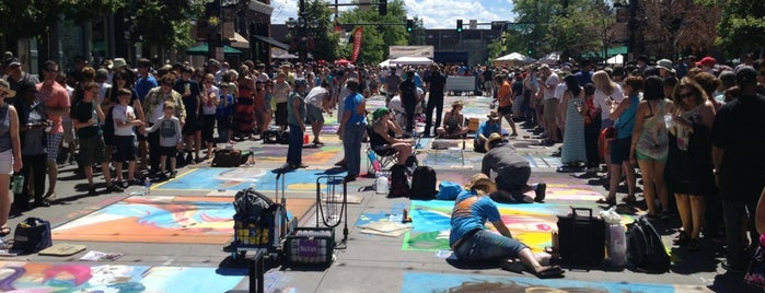 Denver Chalk art festival is one of Locais salvos de Laramie.
