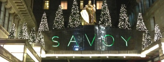 The Savoy Hotel is one of Mayfair List.