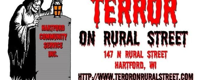 Terror On Rural Street is one of George'nin Beğendiği Mekanlar.