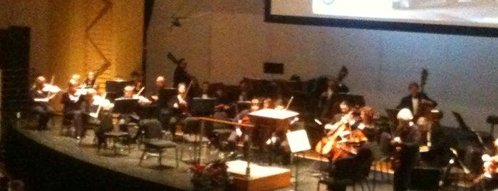 Asheville Symphony is one of Andrea'nın Kaydettiği Mekanlar.