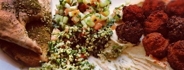 Taïm Falafel and Smoothie Bar is one of [NY] Asian&Mediterranean.