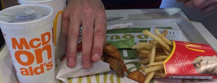 McDonald's is one of Lugares favoritos de Kevin.