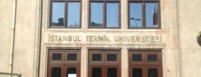 İstanbul Teknik Üniversitesi is one of Yerleşkeler.