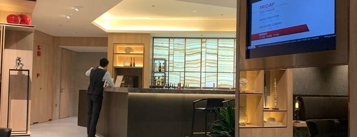 Changi Lounge is one of Akshay : понравившиеся места.