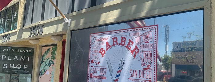 Barber Side is one of San Diego.