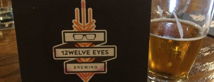 12welve Eyes Brewing is one of Lieux qui ont plu à Kristen.