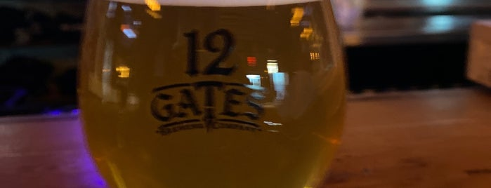 12 Gates Brewing Co is one of Breweries or Bust 3.