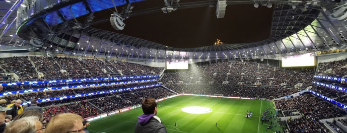 Tottenham Hotspur Stadium is one of Locais curtidos por J.