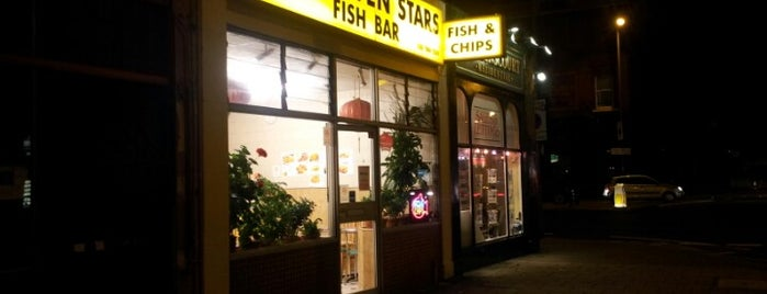 New Seven Stars Fish Bar is one of UK.