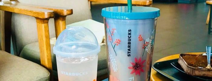 Starbucks is one of สถานที่ที่ Rahmat ถูกใจ.