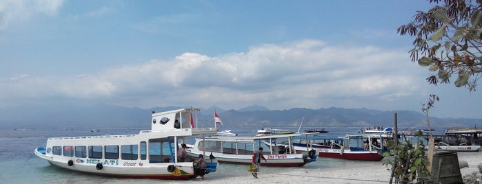 Pantai Gili Trawangan is one of LOMBOK.