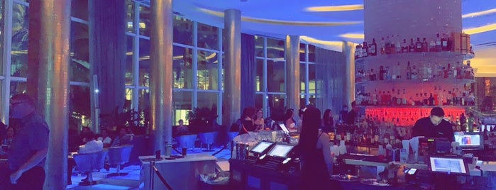 Glow Bar at Fountainebleau Hotel is one of US TRAVEL FL.