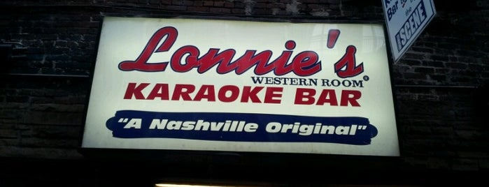 Lonnie's Western Room is one of Nashville.