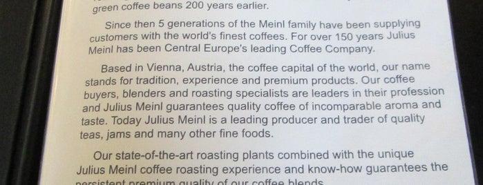 Julius Meinl Coffee House is one of Locais salvos de Gardenia.