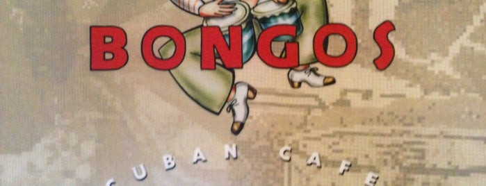 Bongo's Cuban Cafe is one of Disney Springs.