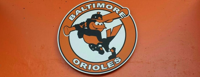 Oriole Park at Camden Yards is one of MLB.