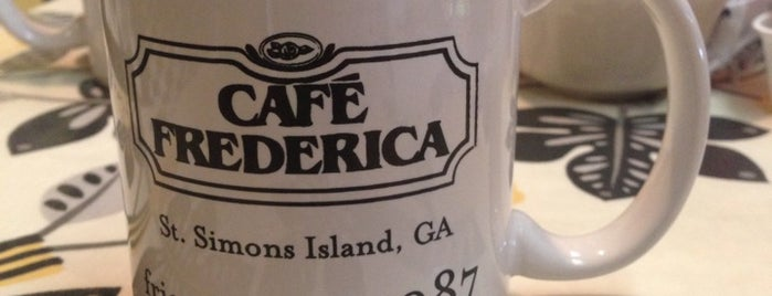 Cafe Frederica is one of Sea Island.