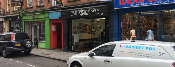 The Nomad Barbershop is one of London.