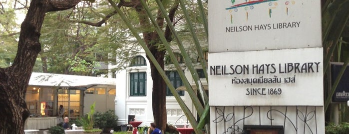 Neilson Hays Library is one of Wanna getting there..