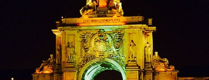 Arco da Rua Augusta is one of Lisbona - wish list.