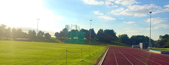 Carnegie Athletics Running Track is one of Leeds Beckett University Buildings.