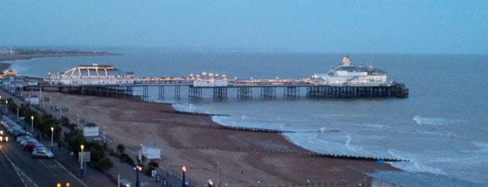 Eastbourne Seafront is one of Places when Out Running.