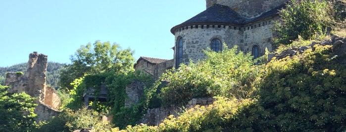 Lavaudieu is one of Les plus beaux villages de France.