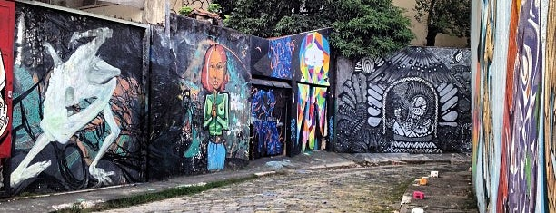 Beco do Batman is one of WW São Paulo Visit.