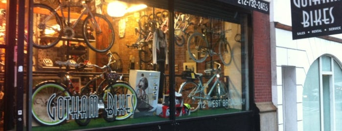 Gotham Bikes is one of Swen 님이 좋아한 장소.