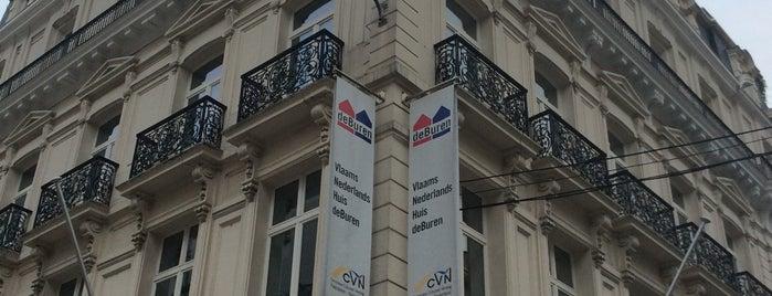 Het Vlaams-Nederlands Huis deBuren is one of Nederlands in Brussel.