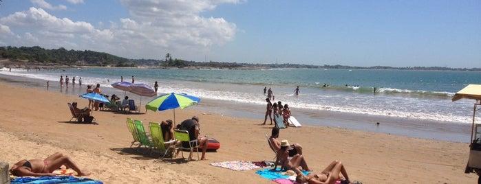 Praia dos Adventistas is one of Guarapari.