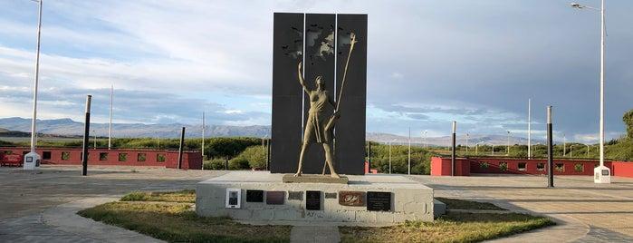Plazoleta Heroes de Malvinas is one of Patagônia.