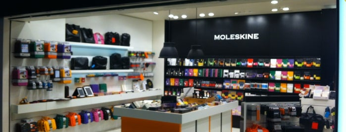 Moleskine is one of Roma.