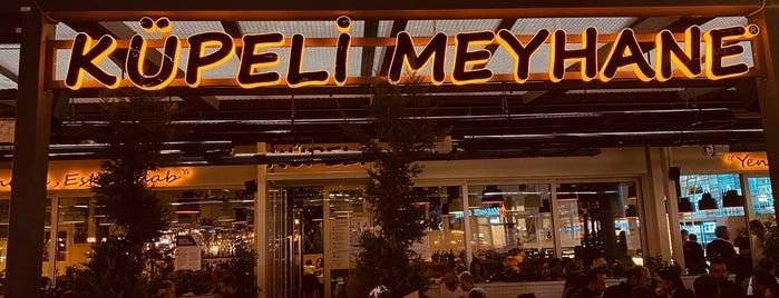 Küpeli Meyhane is one of Lieux qui ont plu à ömer.