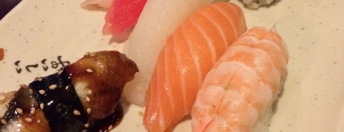 Hanami Sushi is one of Places to go to by me.