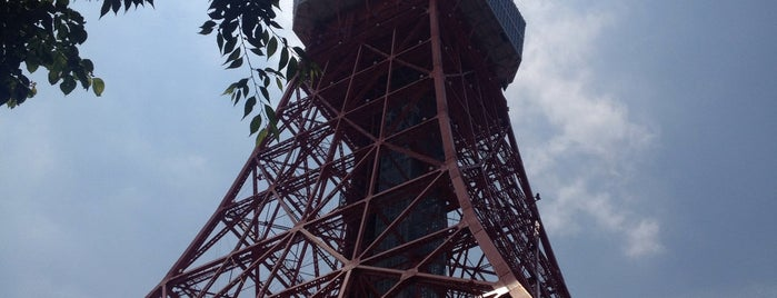 Tokyo Tower is one of Orte, die Filipa gefallen.