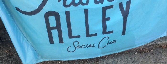 Franklin Alley Social Club is one of Lieux sauvegardés par Sam.