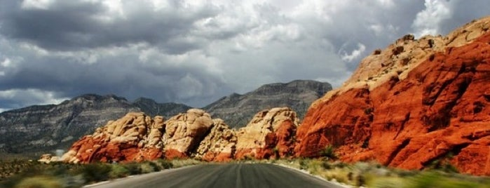 Red Rock Canyon National Conservation Area is one of Vegas Bound Bitches 13'.