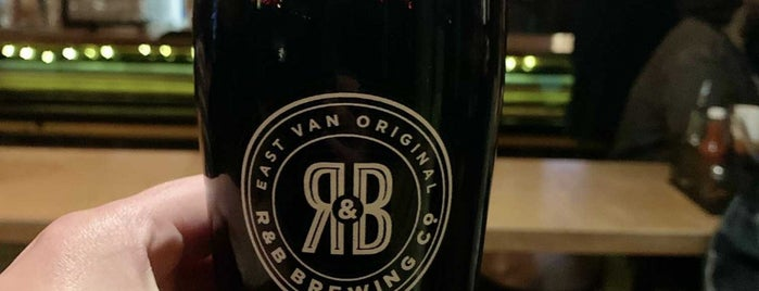 R & B Brewing Co. is one of Vancouver.