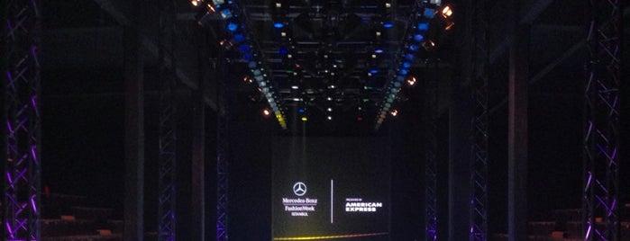 Mercedes-Benz Fashion Week İstanbul 2014 is one of Lieux qui ont plu à Bike.