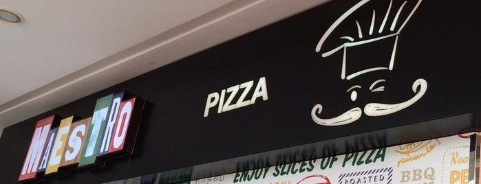 Maestro Pizza is one of สถานที่ที่บันทึกไว้ของ Arwa.
