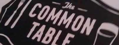 The Common Table is one of Favorite Brunch Spots.