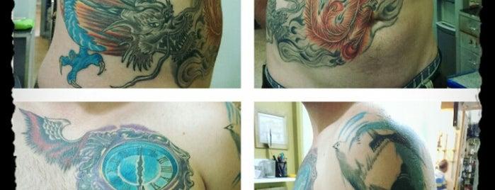 Skin Art Tattoo is one of Locais salvos de Çağla.