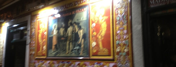La Fragua De Vulcano is one of Madrid.