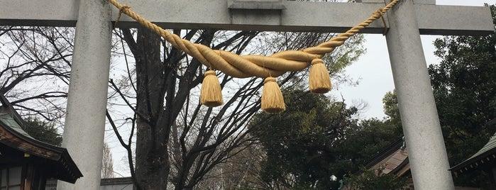 前川神社 is one of 神輿で訪れた場所-1.