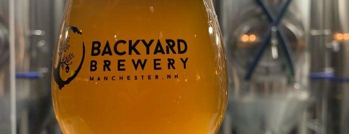 Backyard Brewery is one of David : понравившиеся места.