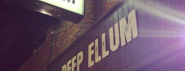 Deep Ellum is one of drinking destinations!!.