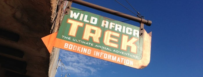 Wild Africa Trek is one of Animal Kingdom.